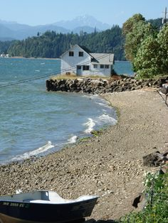 Hood Canal, Washington--one of my favorite places to camp. The water is warm and toasty!