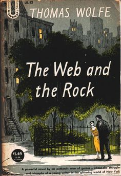 I have never seen this Edward Gorey cover for Thomas Wolfe. If you do, buy it and call me.