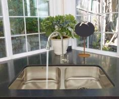 Artisan Under-mount Double Basin 16 Gauge Stainless Steel Sink