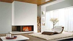 modern wood burning fireplace ideas