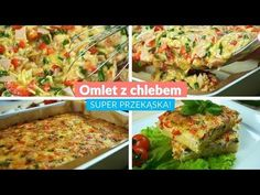 Omlet z chlebem - Super przekąska! Smoothie Bowl, Make It Yourself, Chicken, Cooking, Food, Per Diem, Poultry, Koken, Baking Center