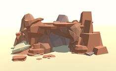 Low Poly Landscape Set #sponsored#3D Landscape#Poly#Set#Fantasy Unity Games, Asset Store, Low Poly Models, Game Assets, Sketch Inspiration, Design Tutorials, Pixel Art, Game Art, Environment