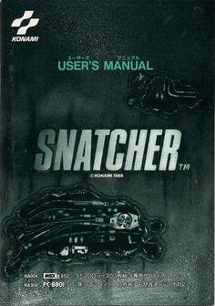 Snatcher User's Manual