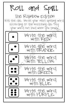 This sounds like a great activity. I wonder if adding color, so more sensory input, helps with memory? Fun way for the kids to practice writing spelling words