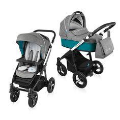 Baby Design Husky 3:1 multifunkciós babakocsi + winter pack 2016 - Turquoise