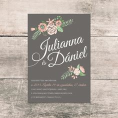 Wedding invitation card Wedding Invitation Cards, Chalkboard Quotes, Art Quotes, Graphic Design, Stamps, Seals, Wedding Invitations, Postage Stamps, Stamp