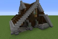 Minecraft small house ideas awesome small me val house grabcraft your number one source Minecraft Crafts, Minecraft Bauwerke, Plantas Do Minecraft, Construction Minecraft, Minecraft Building Guide, Minecraft House Tutorials, Minecraft Houses Blueprints, Minecraft House Designs, Amazing Minecraft