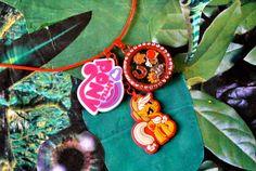 Apple Jack Inspired My Little Pony Living Charm Locket, Jewellery, Kawaii, MLP Cosplay, Friendship Is Magic, Lolita, Floating Charm Lockets
