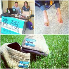 """""""Great pic of Cobbers celebrating #TOMS One Day #WithoutShoes event via @Jamie Offerdahl. #oneforone #cordmn"""""""