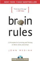 Brain Rules: 12 Principles of Surviving and Thriving at Work, Home and School - . - Brain Rules: 12 Principles of Surviving and Thriving at Work, Home and School – cover Brain Science, Science Books, Brain Gym, Reading Lists, Book Lists, Reading Goals, Books To Read, My Books, Lectures
