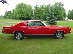 1972 Chevrolet Monte Carlo  Coupe Red
