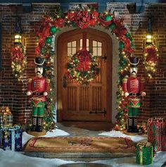 These Trendy Outdoor Christmas Decorations collection ensures that you ...