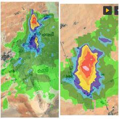 #شبكة_أجواء : #الإمارات : الخلايا الماطرة و البردية على المناطقة التابعة لمدينة #العين حاليا من خلال رادار غيث .  @g.s.chasers  @alyasatnet