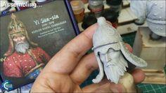 "Painting ""Yi Sun-sin"" (SBS) | Coloured Dust"