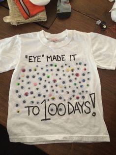 Michael's 100 Days shirt