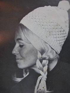 1960's Vintage Knitting Pattern Women's Hat 2146-165. $3.00, via Etsy.