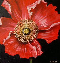 Red Poppy by Cherie Roe Dirksen (prints available) #redpoppy #poppyprint #poppyart
