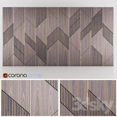 Ideas For Wood Texture Photoshop Wall Wall Panel Design, Feature Wall Design, 3d Wandplatten, 3d Max Vray, 3d Wall Panels, Panel Walls, Wall Finishes, Decorative Panels, Wall Patterns