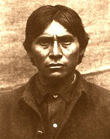 Apache Kid, said to have been the fiercest Apache next to Geronimo,