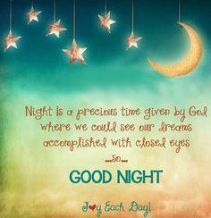 Good night via www.Facebook.com/JoyEachDay