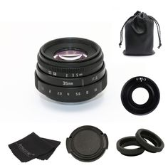 Review Fujian 35mm f/1.6 C Mount CCTV Lens From China Manufacture