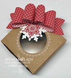 Jul 31, 2014 Christine Miller My Stamp Lady: Gift Bow Bigz Die