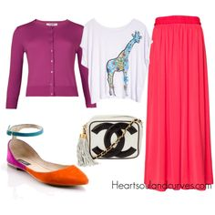 """""""How To Wear A Maxi Skirt (Part 2)"""" by adoremycurves on Polyvore"""