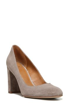 Free shipping and returns on SARTO by Franco Sarto 'Aziza' Block Heel Pump (Women) at Nordstrom.com. A wrapped block heel elevates and modernizes a quintessential round-toe pump done in glossy patent leather to provide a perfectly polished finishing touch.