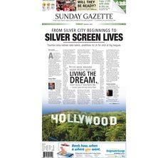 The front page of the Taunton Daily Gazette for Sunday, Aug. 9, 2015.