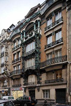 Immeuble d'habitation (1901)  14, rue d'Abeville Paris 75010, Architecte : Edouard Autant.