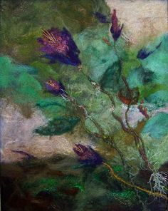 #707 Wild Flower | Flickr - Photo Sharing! needle felted wool