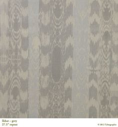 tyler graphics ikat gray - possible dining chair fabric or living room chairs