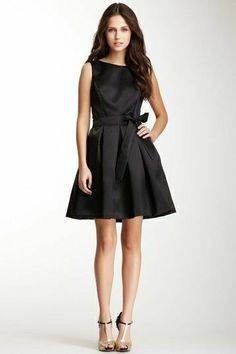 Classy Casual, Casual Chic Style, Dress With Bow, Dress Up, Cute Dresses, Dresses For Work, Black White Fashion, Ao Dai, Satin Dresses