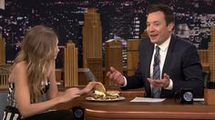 Must Read: Gigi Hadid Ate Burgers With Jimmy Fallon New Photos of Harry Styles's Hair Emerge