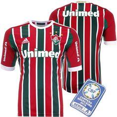 ba2a5460ca363 Camisa Fluminense I 2013 - 2014 Adidas Tricolor