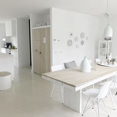 Kitchen Time, Kitchen Dining, Dining Table, Fashion Room, Modern Rustic, My Dream Home, Office Desk, Living Spaces, Interior