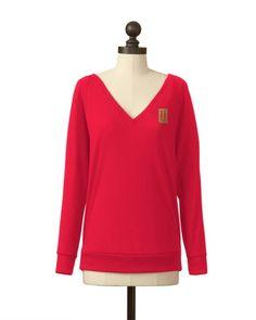 Tulsa Golden Hurricane | Pullover V-Neck Sweater | meesh & mia
