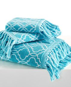 Dena Home Tangier Jacquard Bath Towel Collection