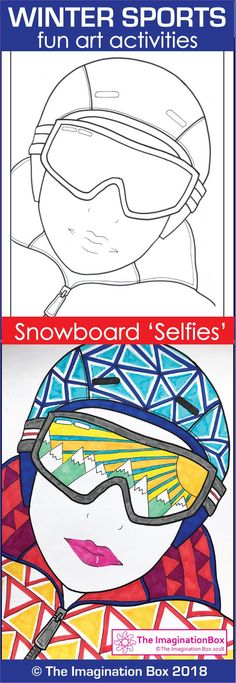 This imaginative 52 page Winter Sports themed art and design activity pack is ideal for the classroom, grades 4-7 - packed with easy to use, fun coloring pages and printable templates with a snowboard inspired winter sport theme. Kids can have fun designing hats, boots, and hoodies and make decorations for the bulletin board. Lots of handy templates - medals, trophies, rosettes, winter garlands, bookmarks and more. Click on the link to preview the pdf teaching resource in full.