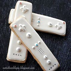 Wii, Xbox, PS3 Controller Sugar Cookies