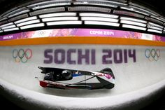 Elana Meyers and Lauryn Williams of the United States team 1 compete during the Women's Bobsleigh (c) Getty Images Bobsleigh, Usa Olympics, Athlete, United States, Sports, Hs Sports, Sport
