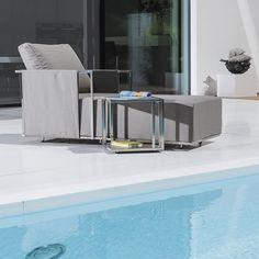 Awesome Contemporary lounge chair foam garden adjustable backrest RIO LOUNGE FISCHER M BEL
