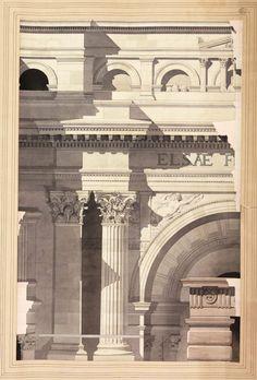 Barth Jules chrétien 1873  diseño escuela de bellas artes de Paris