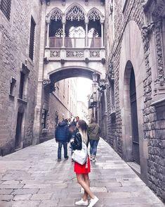 Готический квартал (Barri Gotico) популярное место в Барселоне, сырые темные улочки, в которые едва проникает солнечный свет. Здесь царит…