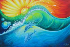 Surf Art - Drew Brophy - Surf Lifestyle Artist