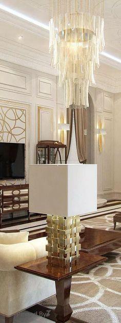 Classic Style – Interior Design  DESIGN – Stunning Expressions Office Interior Design, Luxury Interior Design, Interior Design Living Room, Modern Interior, Interior Decorating, Home Decor Colors, Colorful Decor, Elegant Living Room, Luxury Decor