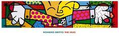 "Pop Fine Art Print ""The Hug"" by Romero Britto Poster Framed Art Prints, Framed Artwork, Fine Art Prints, Poster Prints, Poster Poster, Wall Art, Pop Art Artists, Famous Artists, Virtual Hug"