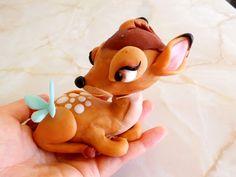 Fondant deer #cake Topper