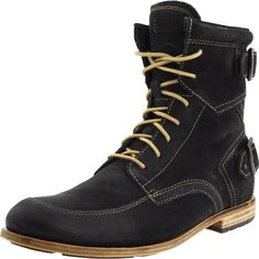 The Rockport Buckle Boot is one of the more handsome boot offerings I've come across in the past few months, the leather upper/leather...