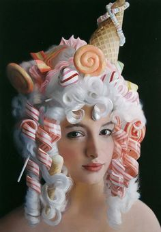 "very marie antoinette  ~~~  A la Bow Wow Wow ""I Want Candy!"""